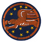 Patch worn by Tuskegee Airmen of the 99th Fighter Squadron during World War II
